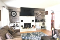 Second Wood Fireplace